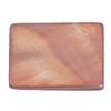Shell Rectangular 15x20mm Light Copper
